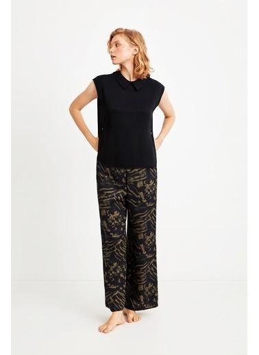 Penye Mood 9048 Pijama Takım Siyah